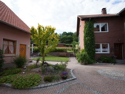 Photo for High quality 4-star apartment on the edge of the Reinhardswald Nature Park