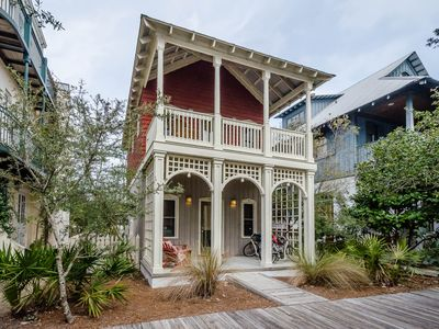 Point of View Cottage located in the heart of Rosemary Beach