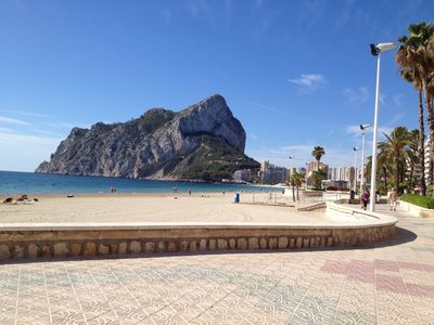 Photo for Charming villa in small complex with pool A Calpe