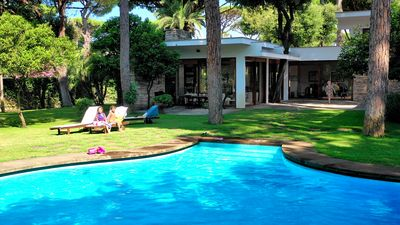 Photo for Luxury Villa with Swimming Pool Surrounded by Fregene Ancient Pine Forest