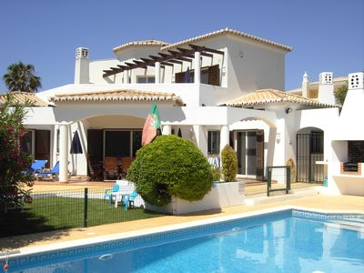 Photo for villa with pool on an enclosed private property, 300m to the coast