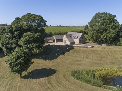Photo for A Late 18th Century Detached Barn Conversion Situated In 3 acre Grounds Complete With Lake