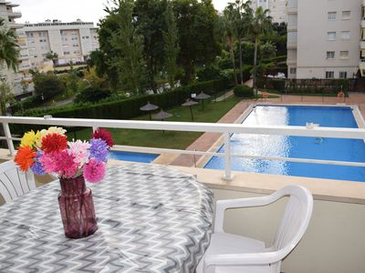 Photo for BEAUTIFUL APARTMENT WITH POOLS AND COMMUNITY GARDENS.