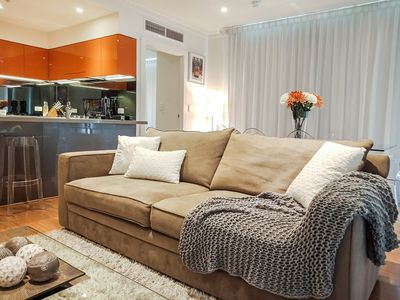 Photo for CBD Adelaide, 2BR Luxurious Apartment across the road from the Central Market.