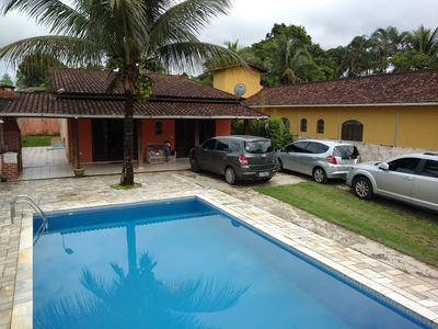 Photo for House ground floor, 3 bedrooms and 1 suite, with pool and near the beach