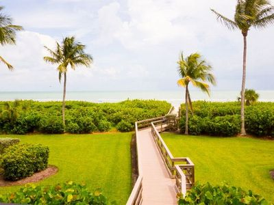 Photo for 3 Bed/ 2 Bath plus Den & Cabana- Beach Front! Compass Point 151