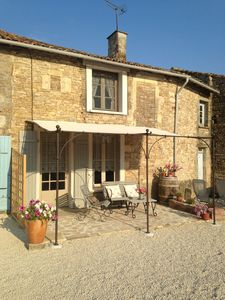 Photo for Cosy Maison is a relaxing cottage in a pretty and quiet charente village