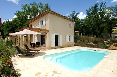 When you stay in this villa you'll have access to your own PRIVATE POOL!
