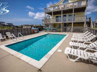 Photo for Glistening Sands   Oceanfront   Private Pool, Hot Tub