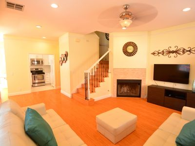 Photo for SPECIAL! Luxury Townhouse1, Steps to Beach and Bay! Garage Crib BBQ AC Baby Gear
