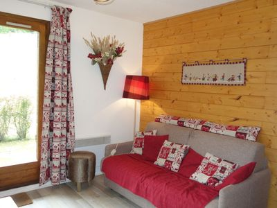 Photo for Apartment Le Sapin in Megève - 4 persons, 1 bedrooms