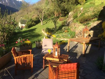 Photo for Home any comfort déco chalet- garden -VUE D'EXCEPTION- near Saint-Lary