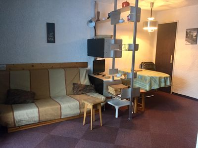 Photo for Apartment 32m2 4/5 people Foot of the slopes Les Deux Alpes
