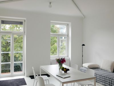 Photo for Sunny, newly renovated apartment in a central location near Prater