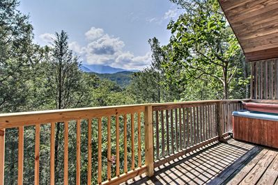 Escape to the Smoky Mountains by booking this Gatlinburg vacation rental cabin.