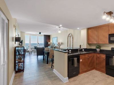 Photo for Gorgeous views! Gulf front Aqua unit 1809 3br3ba