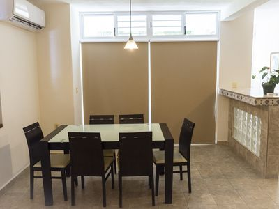 Photo for Spacious apartment for 4 people, 2 bedrooms downtown Playa del Carmen