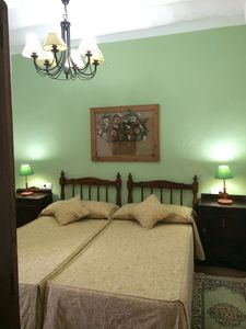 Photo for Rural Accommodation Shared Garden of French, Bedroom Green