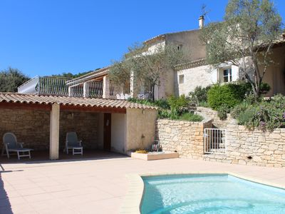 Photo for villa at the foot of the gorges of the Ardeche