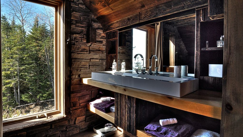 Le Refuge Chalet 10 ppl Spa Sauna and Hammam, Mountain Side and St-Lawrence River view