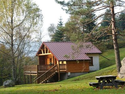 Photo for Beautiful traditional chalet on the edge of forest in La Bresse, renovated, quiet
