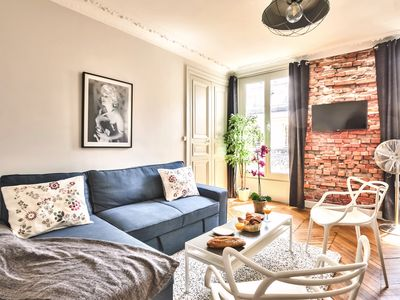 "Photo for Spacious family flat ""Opéra/Saint-Lazare"""