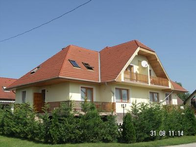 Photo for Holiday apartment Balatonudvari for 4 - 5 persons with 2 bedrooms - Holiday apartment