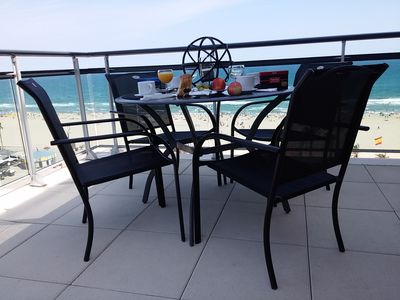 Photo for FROND SEA T5 APPT 4 STARS 125 m², 121 m² TERRACE VIEW BEACH CANET