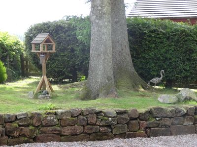 Ravishing Heron Lodge Heron Lodge Located On Edge Of Mabie Forest With  With Fascinating Dumfries Chalet Rental  Garden With Lovely Views Of Mabie Forest And  Abundant Bird Life With Breathtaking Henley Street Garden Centre Also Garden Lion Statues In Addition Botanic Gardens London And Wooden Garden Swing As Well As Garden Definition Additionally Drayton Gardens Sw From Homeawaycouk With   Fascinating Heron Lodge Heron Lodge Located On Edge Of Mabie Forest With  With Breathtaking Dumfries Chalet Rental  Garden With Lovely Views Of Mabie Forest And  Abundant Bird Life And Ravishing Henley Street Garden Centre Also Garden Lion Statues In Addition Botanic Gardens London From Homeawaycouk