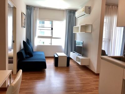 Photo for The Trust Condo Hua Hin 5 Alley, 2 Bedrooms by Pakky