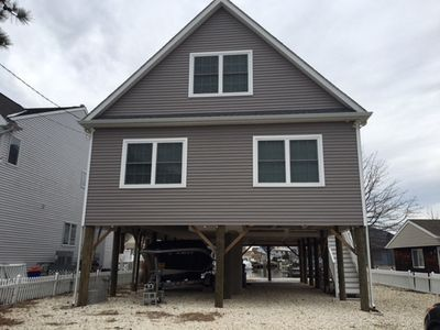 Photo for Brand New Beach House With Boat Dock
