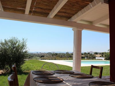 Photo for Villa with private pool near the beaches of Capitolo