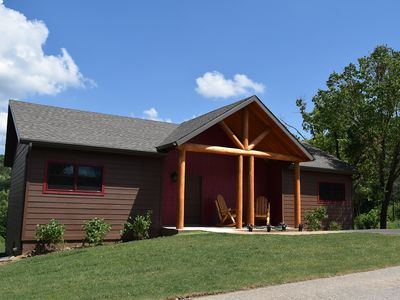 Photo for Luxury 2BR/2BA Cabin On Taneycomo, 1.5 Miles To Tablerock St. Pk. Marin