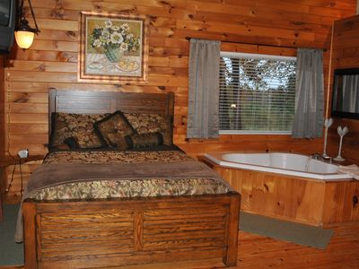 Photo for The Wolf Cabin at Cedar Valley is your destination to get away from it all.