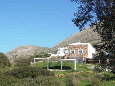 Photo for Wonderful 8 Bedroom gated estate in best location on Syros