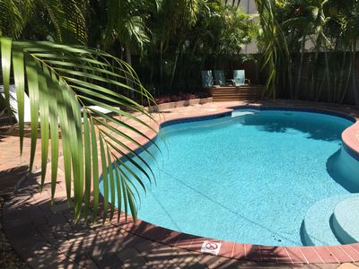 Photo for Oasis of Peace & Tranquility: Pvt. Heated Salt Water Pool-Moments to PB