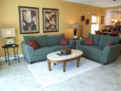Photo for 15% off any 3+ night stay until January 1st!  3BR Corner Unit Sleeps 10!