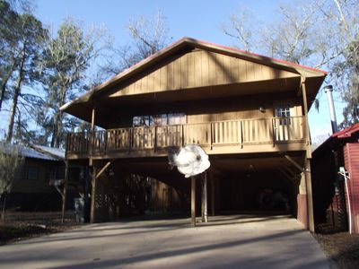 Photo for Riverview Landing Waterfront home on beautiful Caddo Lake / Big Cypress Bayou