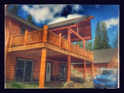 Photo for Peaceful Mountain Retreat with AMAZING Views!