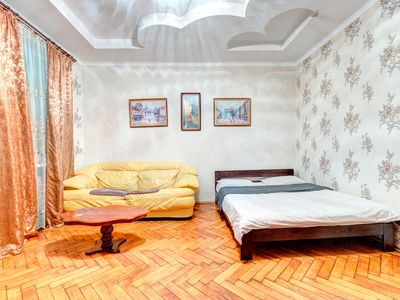 Photo for Beautiful one bedroom apartment on the street Pirogov