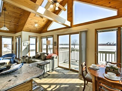 Photo for Waterfront Sturgeon Bay Home w/ Dock & Fire Pit!