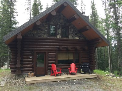 Photo for Cabin1 - A beautiful log cabin in the heart of the Canadian Rocky Mountains
