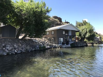 Photo for Snake River Vacation Home *Water Enthusiasts* New Steam Sauna & Dock Water Slide