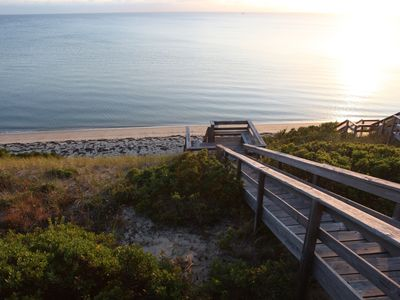 Photo for Bird's Eye View Of Cape Cod Bay.  Waterfront Home With Private Beach.