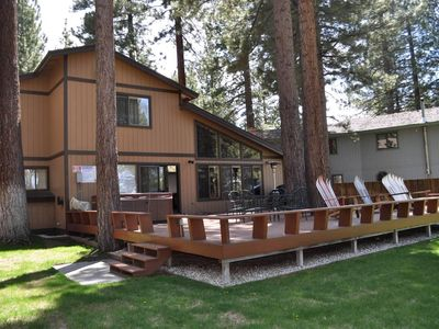 Photo for Lake & Meadow View, Huge Deck w/ Hot Tub