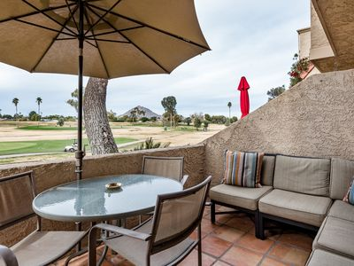 Photo for Overlook the Golf Course at a High-End Desert Oasis