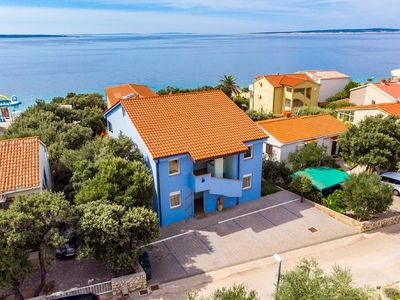 Photo for Seaside Apartment in Mandre with Barbecue