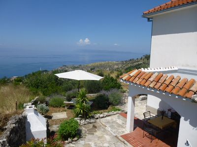 Photo for great sea view, garden, family friendly, up to 5 persons