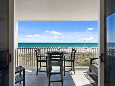 Photo for 180 Feet from the Beach with a beautiful full view of the Gulf of Mexico