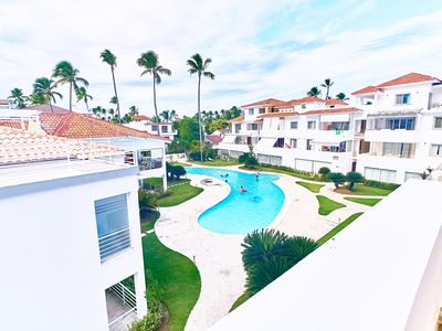 Photo for Los Corales. Close to Everything. Free WiFi, pool, parking. La Terraza D3